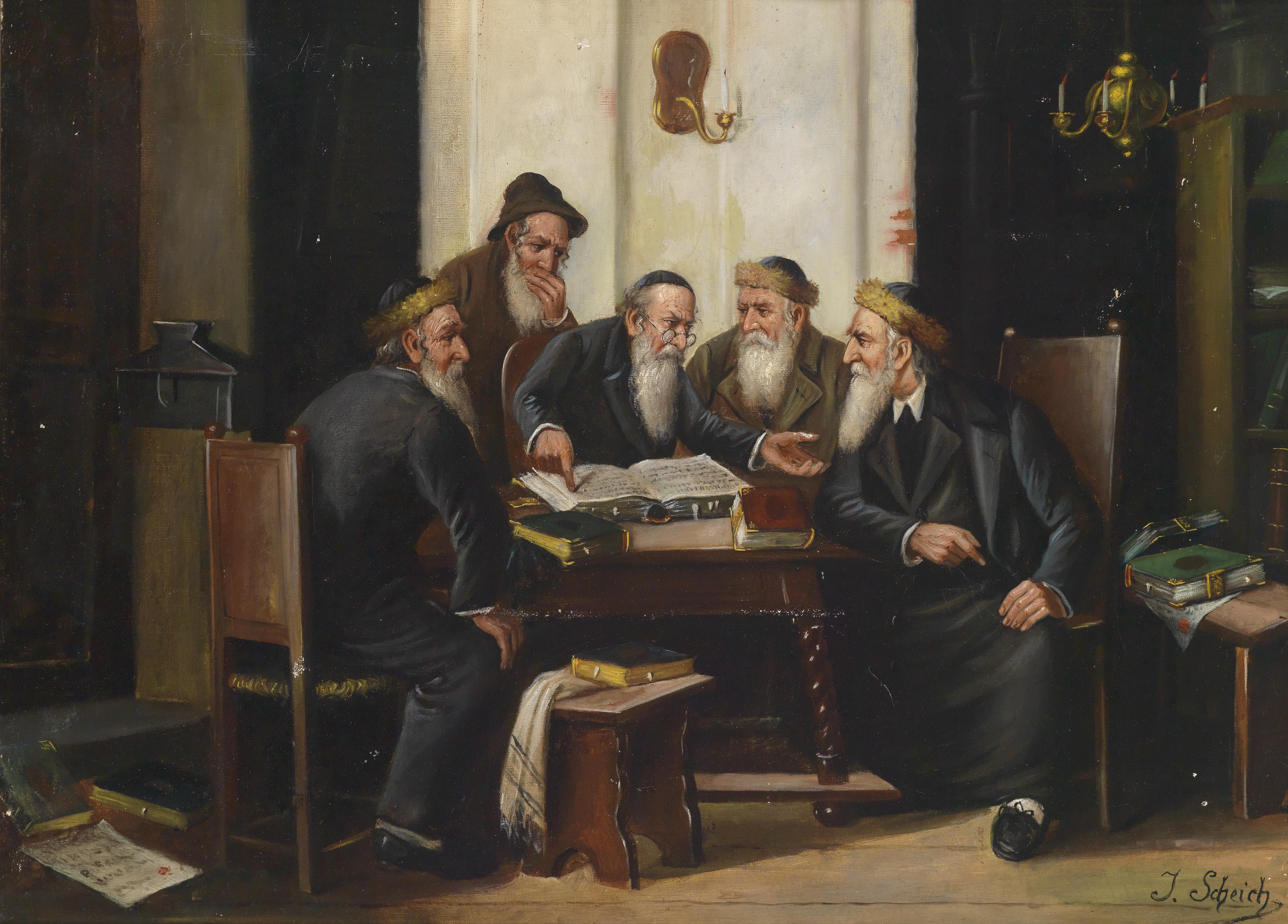 Dratch.Pic1.RabbisDebating